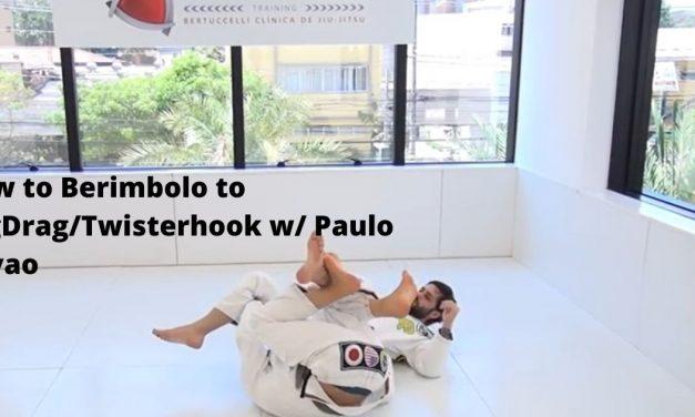 How to Berimbolo to LegDrag/Twisterhook w/ Paulo Miyao