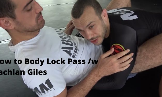 How to Body Lock Pass /w Lachlan Giles