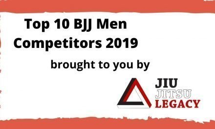 Top 10 BJJ Men Competitors 2019