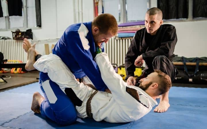 preparation  for flower sweep in BJJ, Jiu jitsu legacy