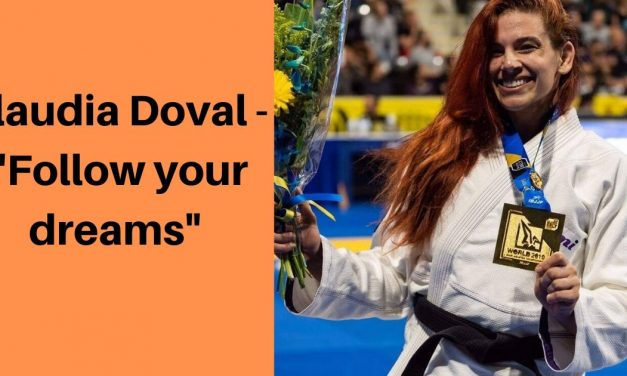 "Claudia Doval – ""Follow your dreams"""