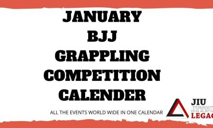 January – BJJ / Grappling Competition Calendar