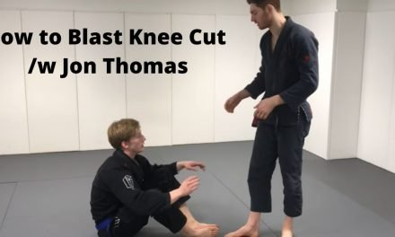 How to Blast Knee Cut Pass with Jon Thomas