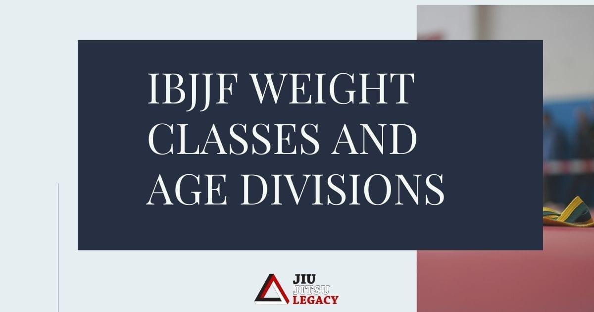Are you confused by IBJJF weight classes