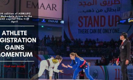 Athlete registration gains momentum for the 12th edition of the Abu Dhabi World Professional Jiu-Jitsu Championship (ADWPJJC) 2020