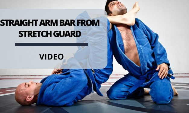 Straight Arm Bar From Stretch Guard By Erik Paulson