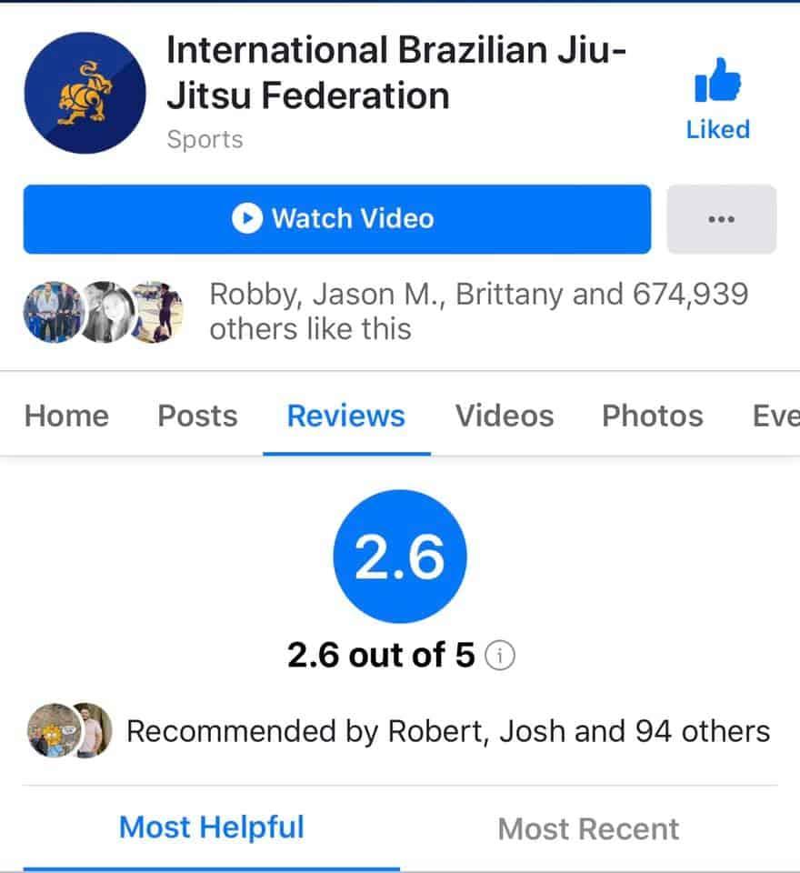 IBJJF Rating Drop | Jiu Jitsu Legacy