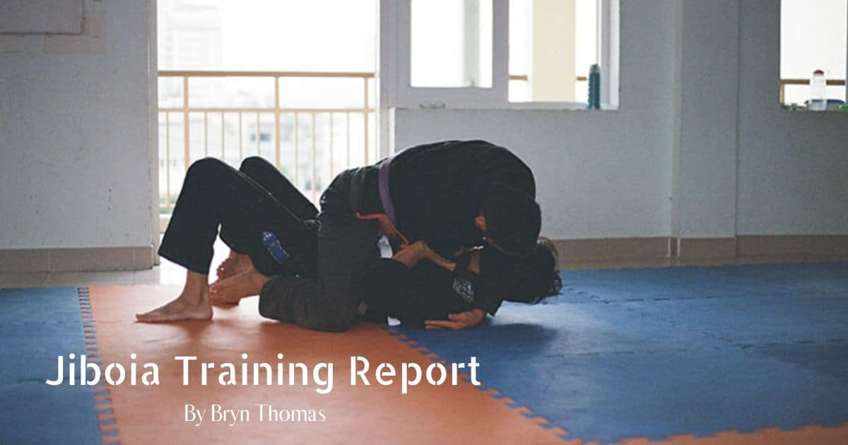 Jiboia Training Report by Bryn Thomas
