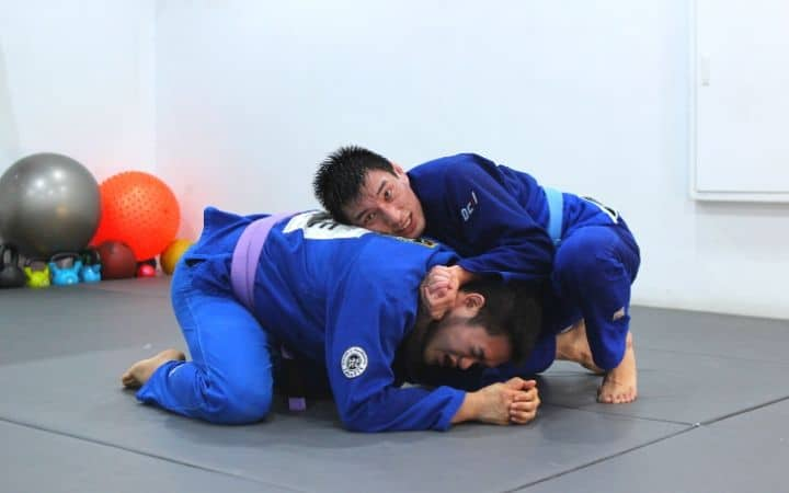 Preparing for Peruvian necktie - Jiu Jitsu Legacy