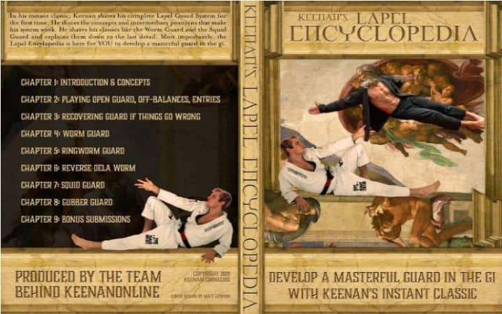 The Lapel Encyclopedia cover | Jiu Jitsu Legacy