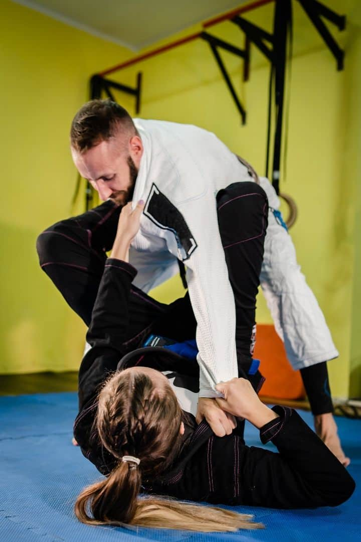 Practicing guard | Jiu Jitsu Legacy