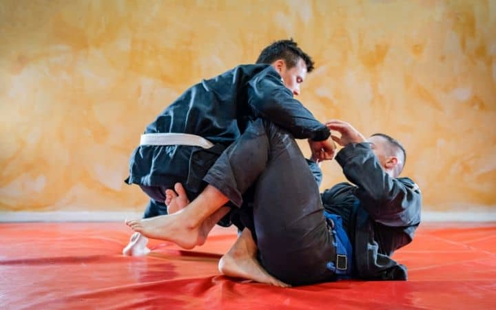 BJJ training guard position   Jiu Jitsu Legacy