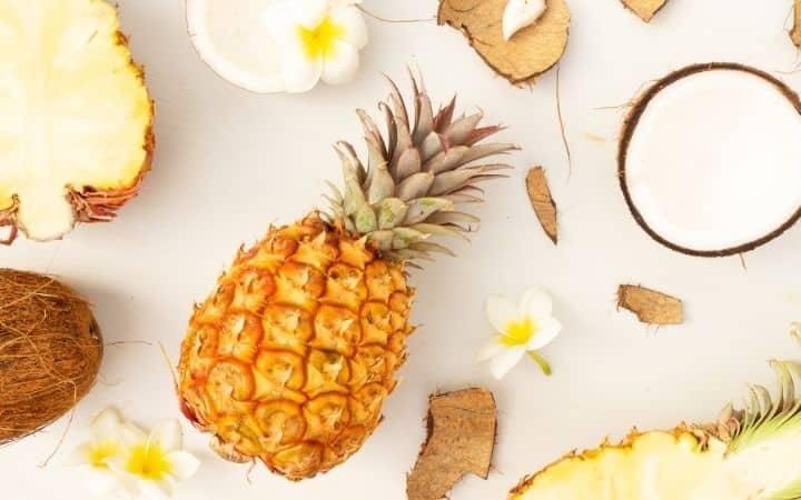 Pineapple and coconut, healthy food choices | Jiu Jitsu Legacy