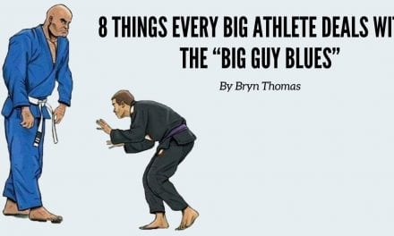 "8 Things Every Big Athlete Deals with— The ""Big Guy Blues"""