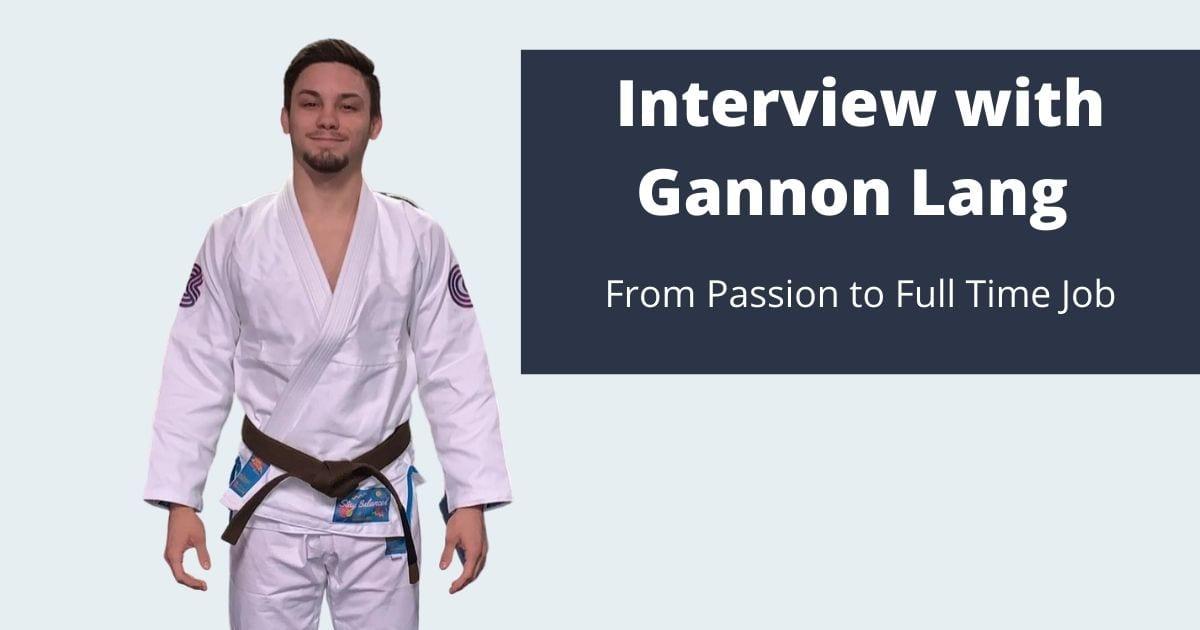Gannon Lang gives interview for Jiu Jitsu Legacy