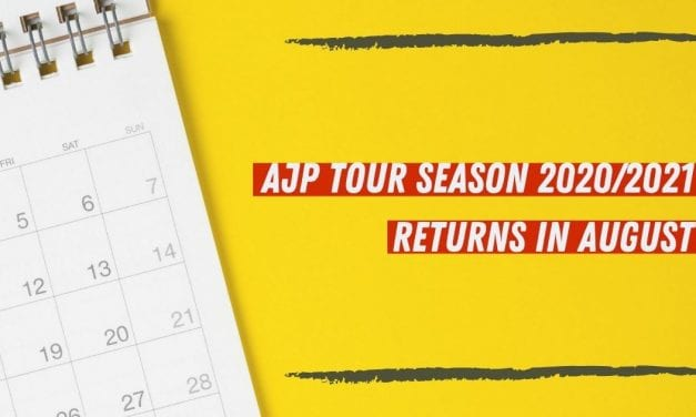 AJP Tour Season 2020/2021 Returns In August