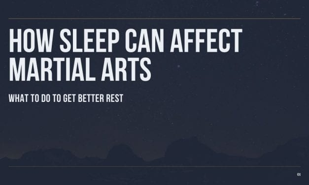 How Sleep Can Affect Martial Arts
