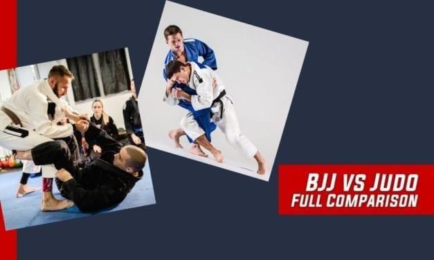 BJJ vs Judo – Full Comparison