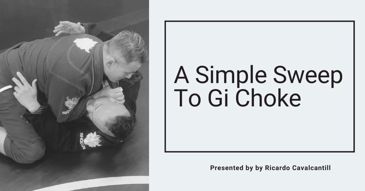 A Simple Sweep To Gi Choke by Ricardo Cavalcanti