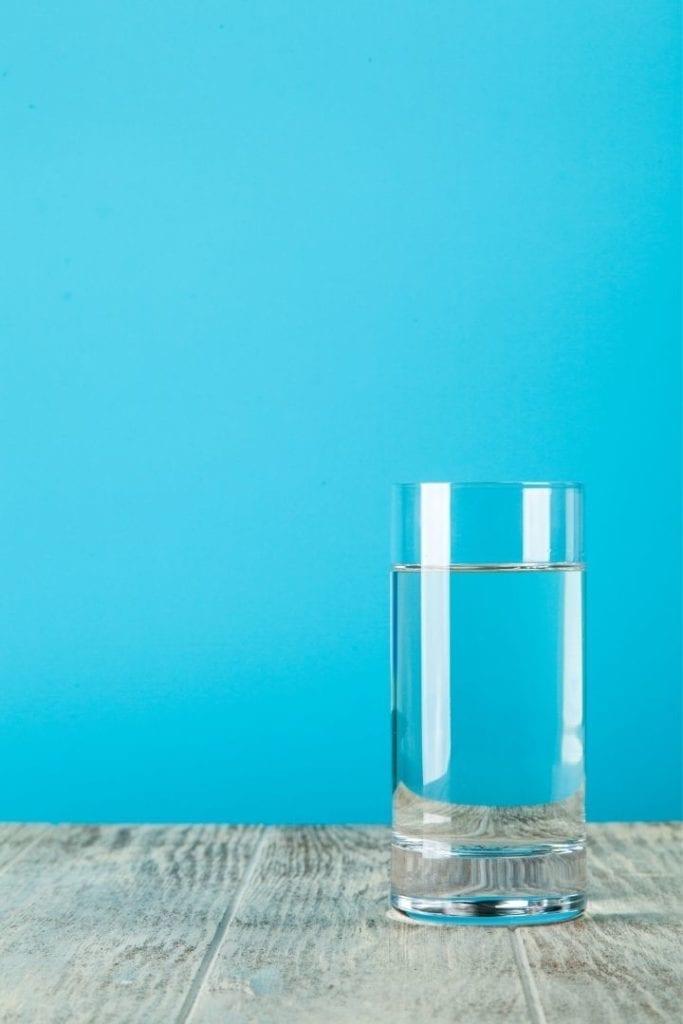 Glass of water, BJJ Diet Plan