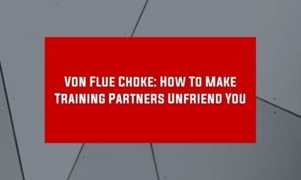 Von Flue Choke: How To Make Training Partners Unfriend You