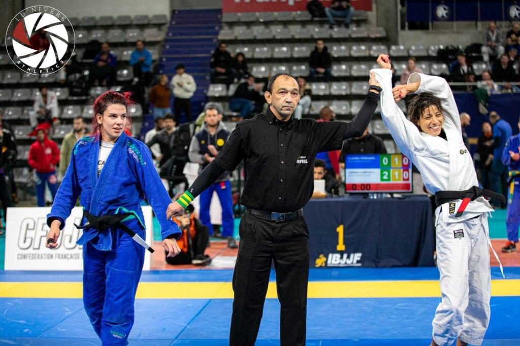 Announcing winner of the BJJ woman competition | Jiu Jitsu Legacy