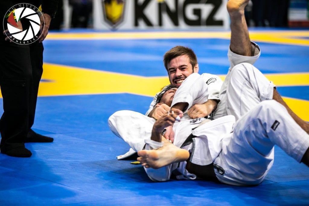 Two man competing in BJJ tournament | Jiu Jitsu Legacy