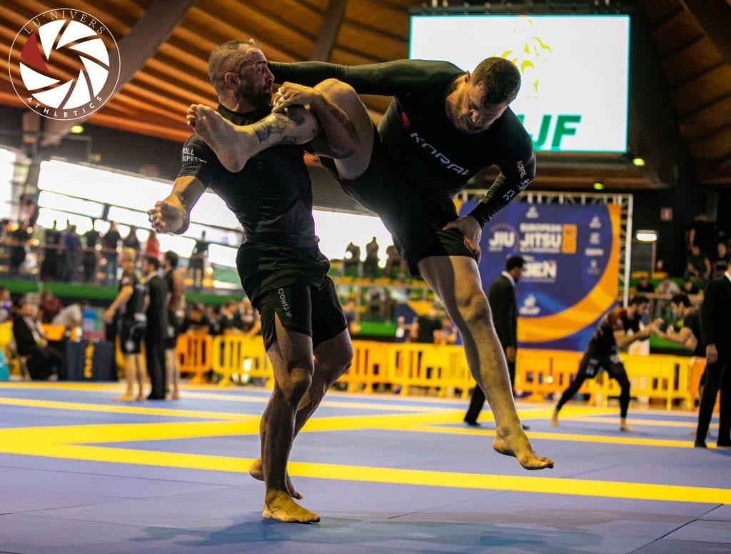 Two men at BJJ tournament match | Jiu Jitsu Legacy