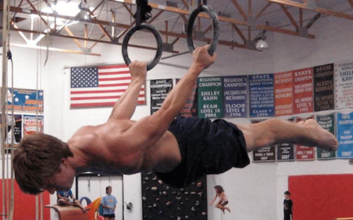 BJJ strength training: Gymnastics back lever