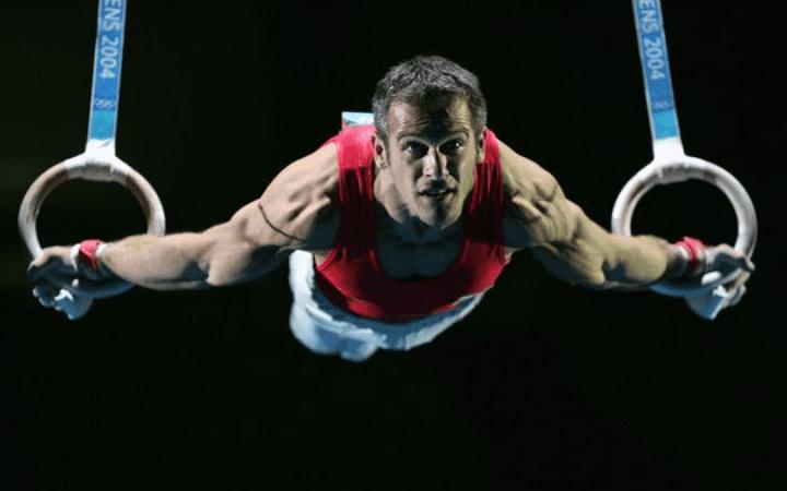 BJj strength training on gymnastic rings