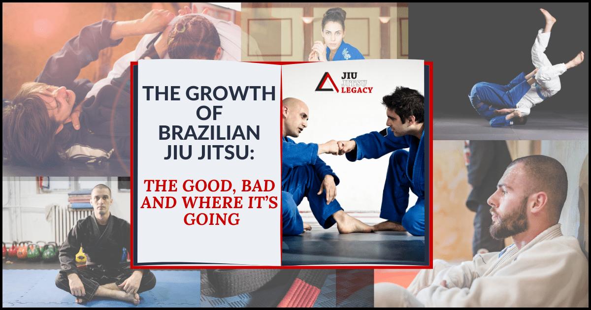 The Growth Of Brazilian Jiu Jitsu