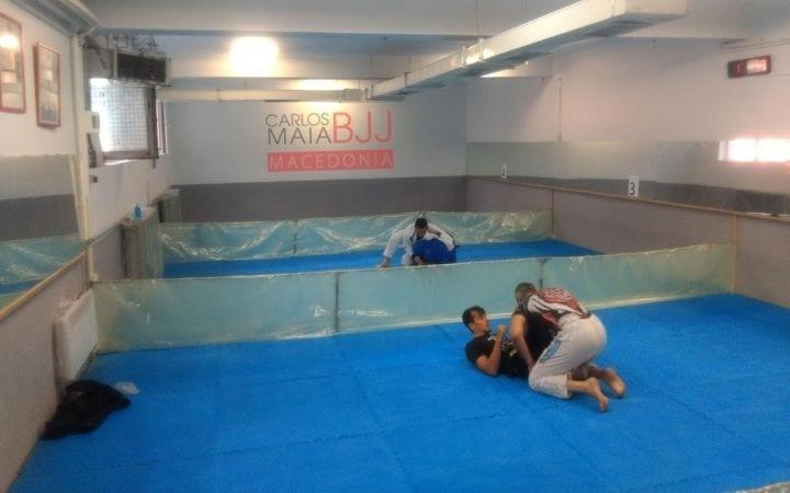 Covid Safe BJJ Gym