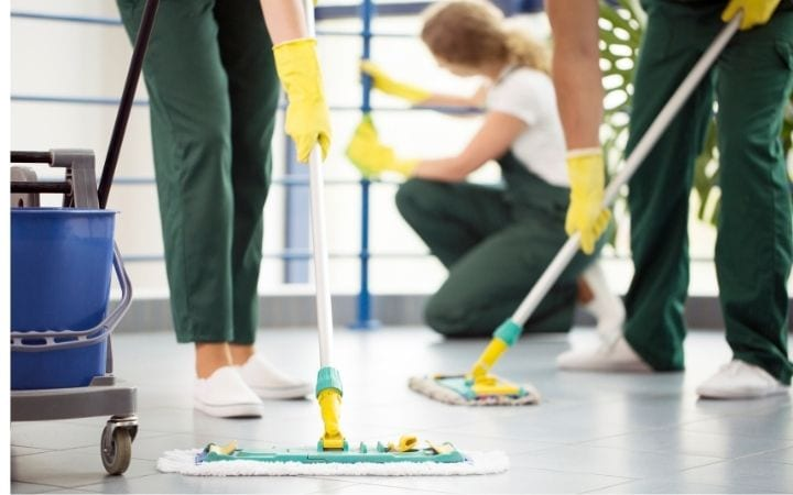 Chemical disinfection of JIu Jitsu mats
