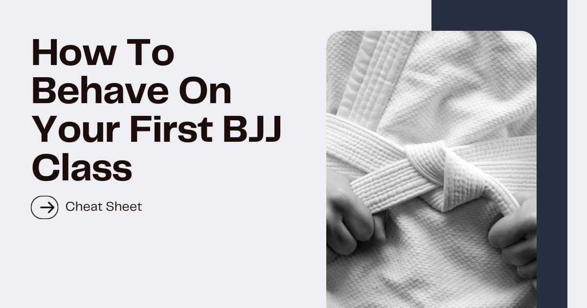 First BJJ Class Feature image
