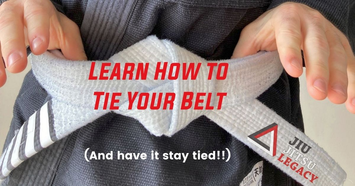 How to Tie a Jiu Jitsu Belt (And Have it Stay Tied!) 4 How to Tie a Jiu Jitsu Belt (And Have it Stay Tied!) how to tie a jiu jitsu belt